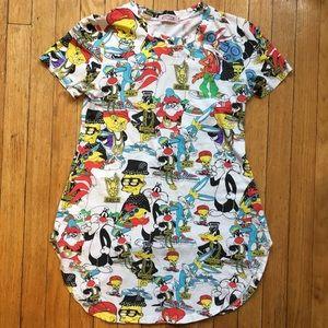 Tops - Cartoon T-shirt dress